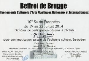 Diplome Brugge