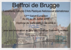 Diplôme Brugge 2016